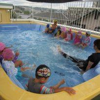 Swimming start!!!