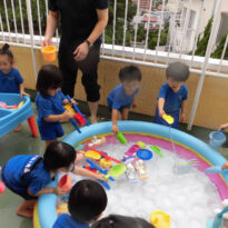 Water play♪